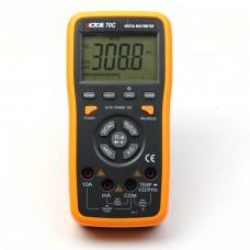 VICTOR 70C Multimètre numérique tactile 3 5/6 touches à effleurement LCD à changement automatique avec connexion PC usb