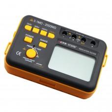 Victor VC60B+ Testeur de résistance d'isolement numérique Megohm DC250/500/1000V AC750V 0.1~2000M