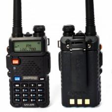 Walkie talkie Baofeng UV-5R black with earphone included