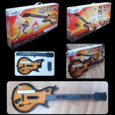 Wii Guitare sans fil Crazy Guitar
