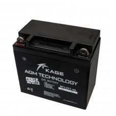 Batterie GEL pour motos YB7-A 12N7-4 12N7-4 12N7-4A 7Z-4A CB7-A FB7-A FIAMM 6H2P VARTA 50713 Y12N7-